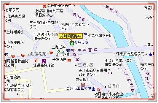 荥阳塔山路店面地图